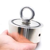 Поисковый магнит для поиска сокровищ, поднимает вес до 500 кг
