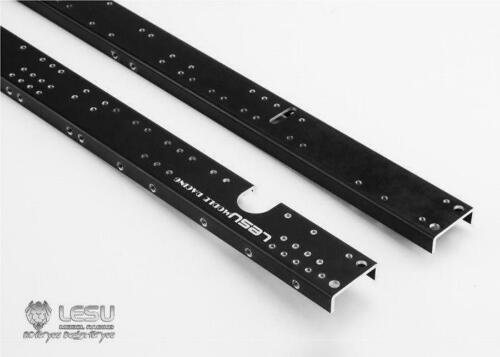 LESU 1/14 Metal Chassis Rail CNC Benz 6*6  for RCTractor Truck TAMIYA TH02369-SMT5 enlarge