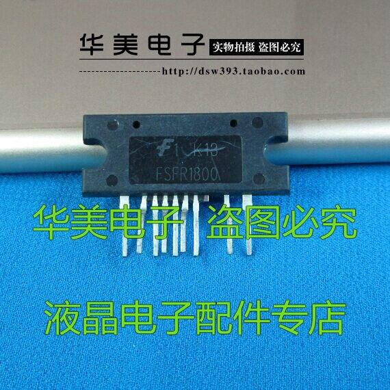 Envío gratis. FSFR1800 FSFR1800XSL broches doblados Vertical LCD común chip de alimentación LCD Accesorios