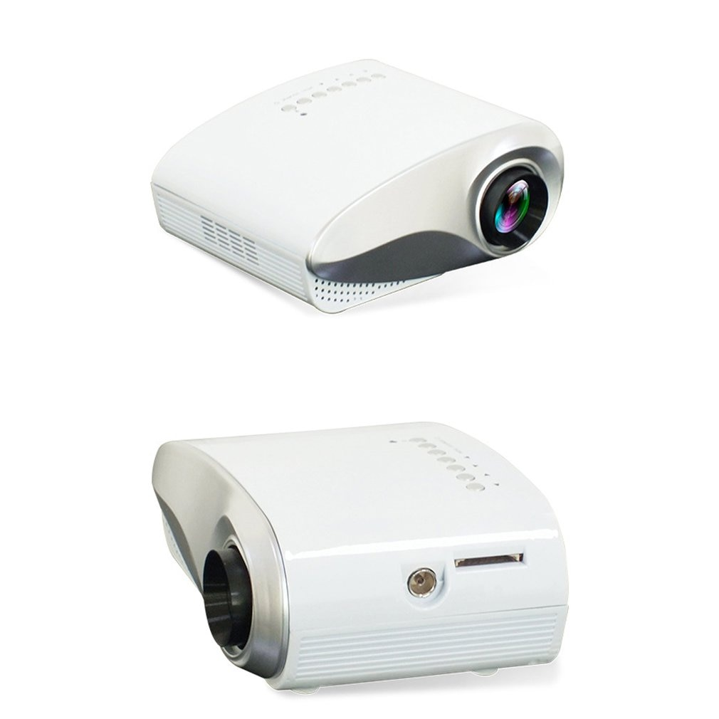 Mini proyector Full HD proyector LED portátil Multimedia Teatro en Casa USB VGA HDMI TV casa teatro sistema