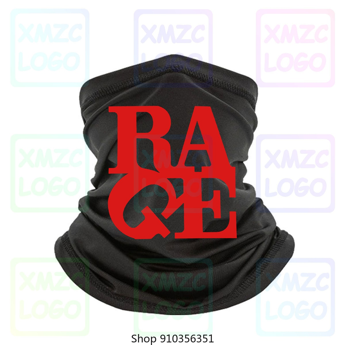 Новая рок-группа Rage Against The Machine Renegades, Мужская черная бандана, размер s 3Xl, повязка на голову, шарф, повязка на шею, теплая Женская и мужская