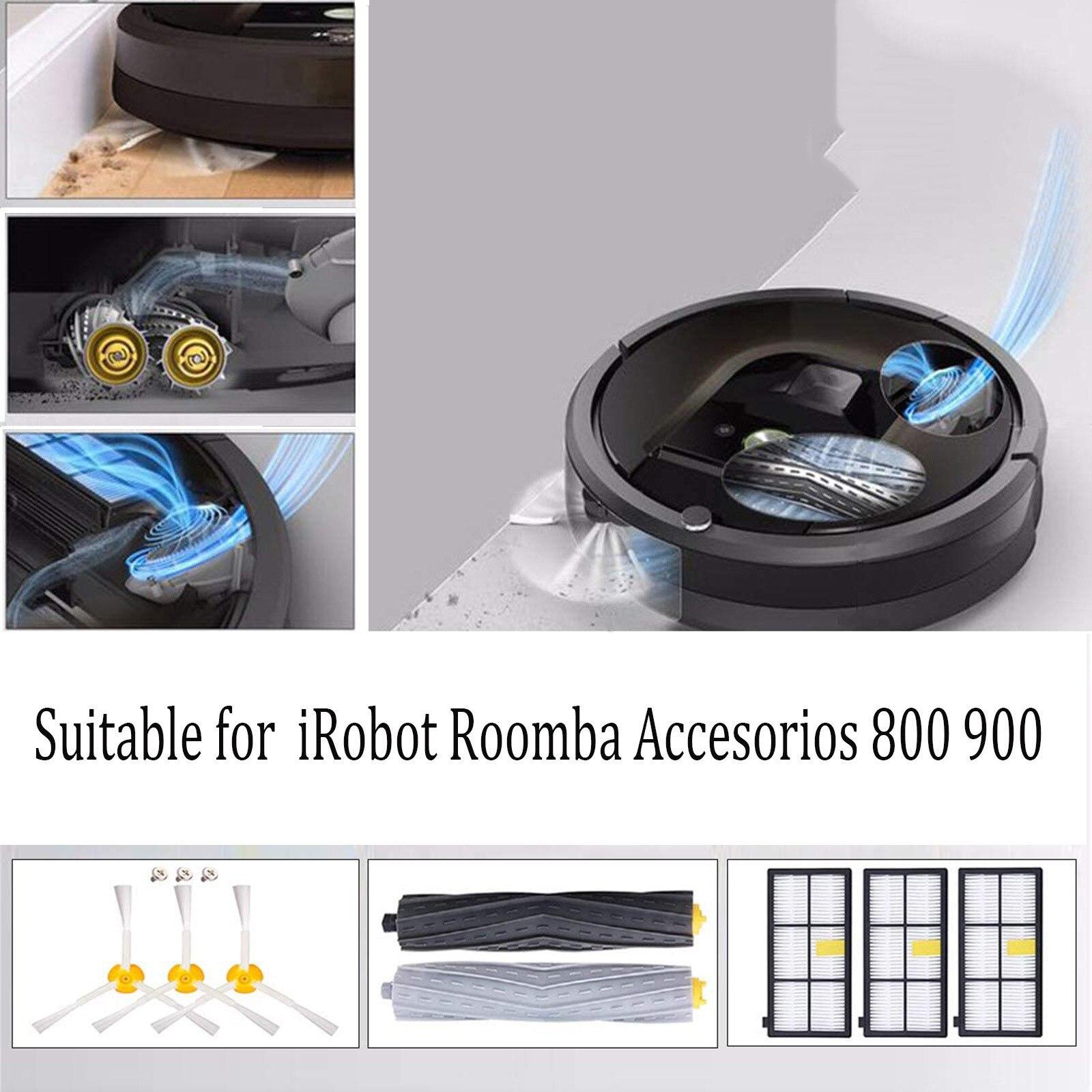 Piezas de limpiador de vacío para Irobot R00mba, Accesorios de la serie...