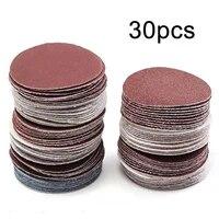 30pcs 4 100mm sander disc 32040060080010001500 grit sanding polishing pad hgih quality