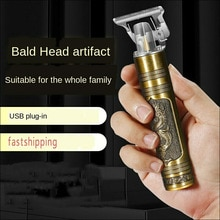 2021 USB Electric Hair Clippers Rechargeable Shaver Beard Trimmer Professional Men Hair Cutting Mach