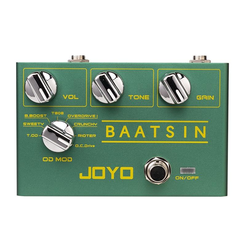 Baatsin Mini Effects 8 In 1 Overload/Distortion Electric Guitar Effects Simulate 8 Kinds Of Monoblocks Guitar Effects JOYO R11 enlarge
