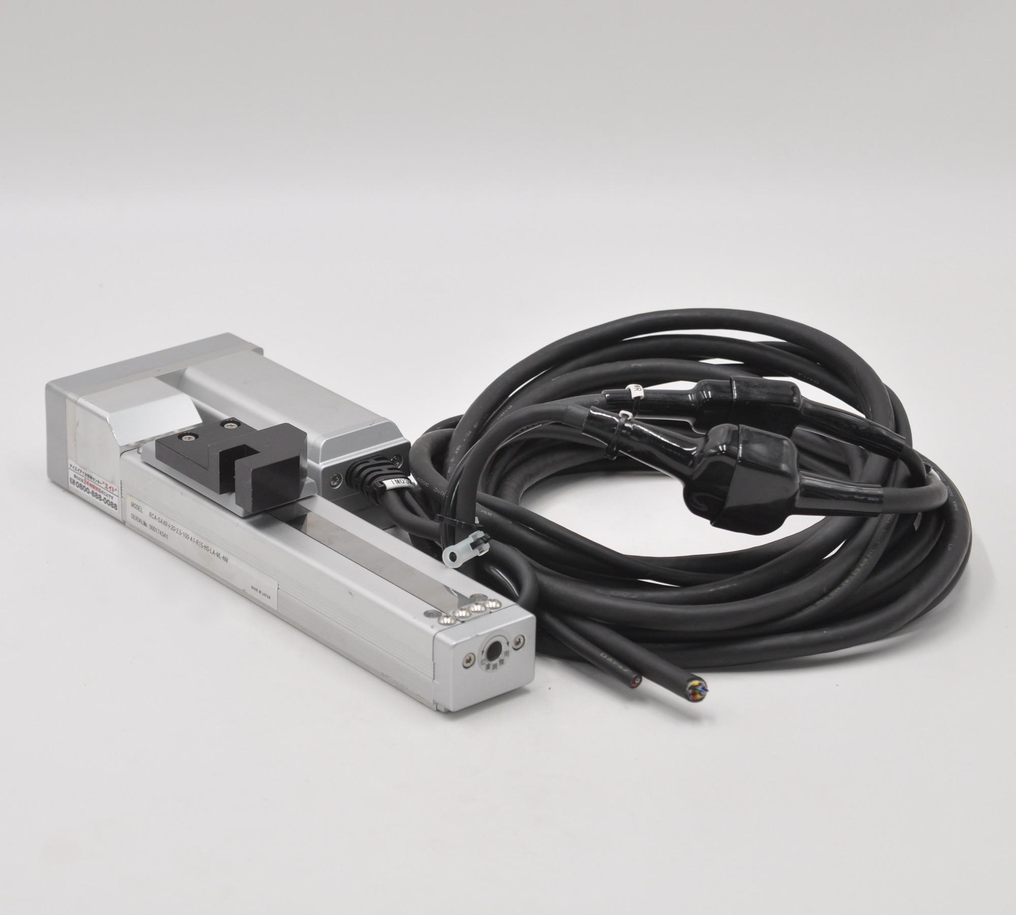 ROBO CYLINDER linear slide RCA-SA4R + 20-2.5-50-A1-R15-HS-LA-MR