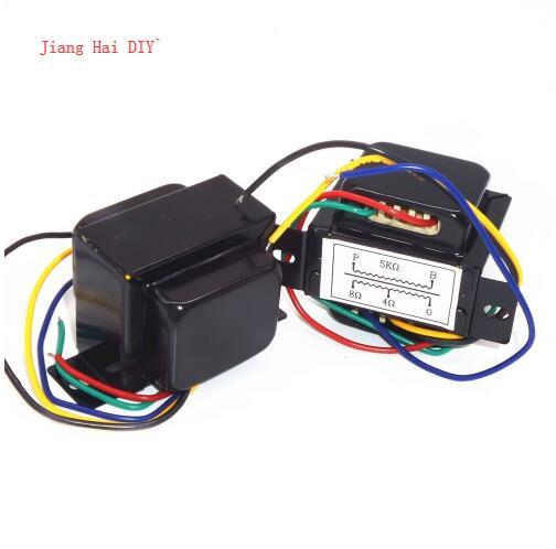 5K 5W Single-Ended 6P1 6P14 6p6 Tube Amp Output Audio Transformers Import Z11 Output 0-4-8 Ohm 1Pcs