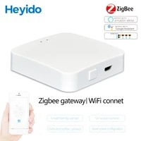 ZigBee     Hub intelligent multi-mode  wi-fi  Bluetooth  maille  fonctionne avec lapplication Mi Home et Apple Homekit  pour maison connectee