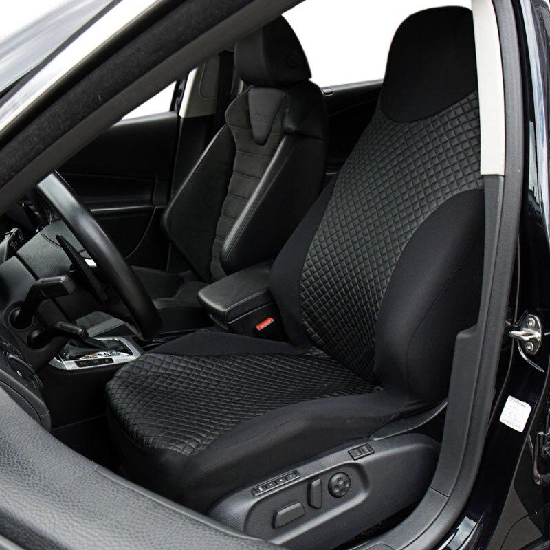 Universal frente cubierta de asiento de coche cubiertas Protector de asiento de Airbag Compatible para coche Honda Accesorios