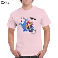 cute langa hasegawa and reki kyan t shirt cotton sk8 the infinity anime graphics top oversized tee femaleman