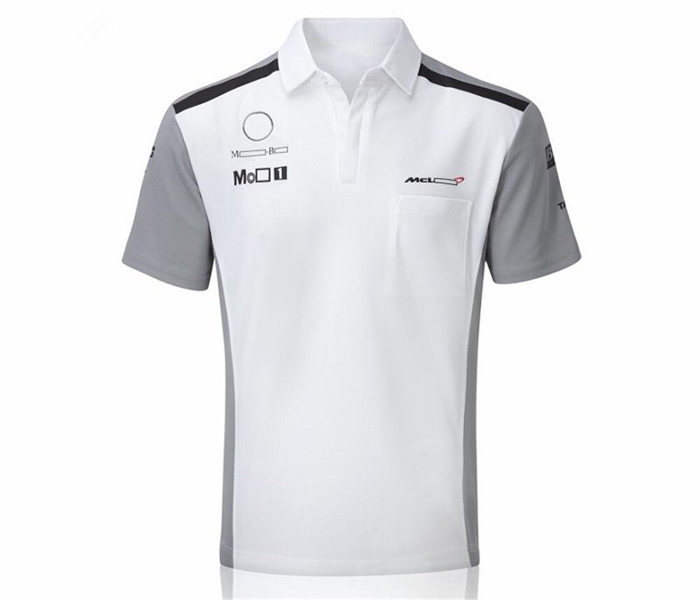 Футболка Формула 1 для мужчин и женщин, быстросохнущая одежда поло для команды F1, летний костюм для гонок, большой размер, можно заказать