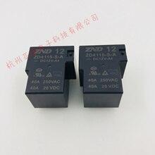 5 pièces ZD4115-S-A-DC12V-A4 40A Zhende relais ZND normalement ouvert 4 broches SLA-12VDC-SL-A de remplacement