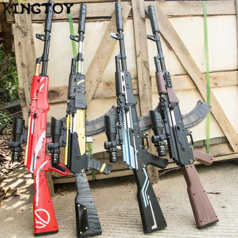 AirSoft Gun Manual Rifle Akm Toy Gun Water Bullet Shooting Boys Outdoor Toys Cs Game Air Soft Sniper Weapon Gifts For Kids