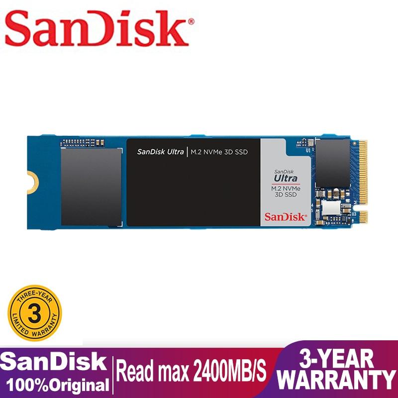 SanDisk SSD M2 3D Nvme Internal Solid State Drive 500GB SDSSDA Portable Mac Mini SSD M.2 Hard Disk For Laptop Memory Drives SSD