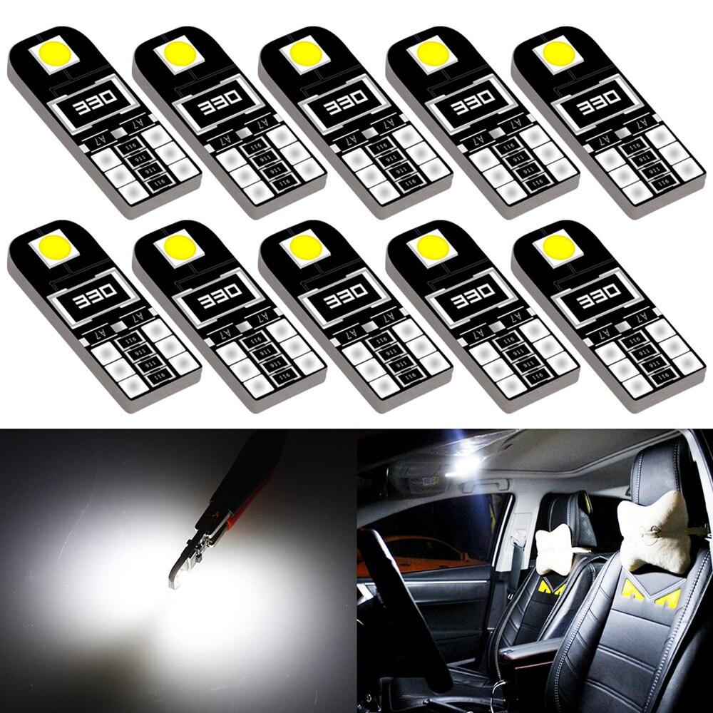 10x T10 W5W LED Canbus Kein Fehler Für BMW E46 E39 E90 E60 E36 F30 F10 e30 E34 X5 E53 M F20 X3 E87 E70
