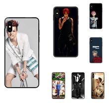 Für Samsung Galaxy S5 S6 S7 S8 S9 S10 S10e S20 rand Lite Plus Ultra Coque Weiche Handy Schwarz Bigbang G-dragon