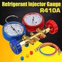 refrigerant charging hoses with diagnostic manifold gauge set for r410a r22 r404 refrigerant charging 14 thread hose