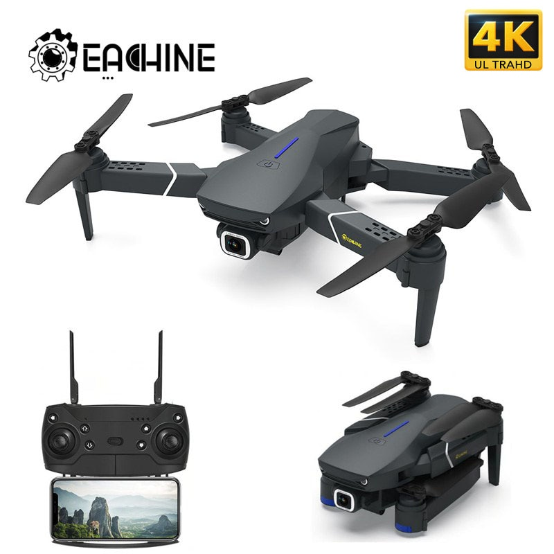 Eachine E520 GPS اتبعني WIFI FPV Quadcopter مع 4K/1080P HD زاوية واسعة كاميرا طوي الارتفاع الانتظار دائم RC الطائرة بدون طيار