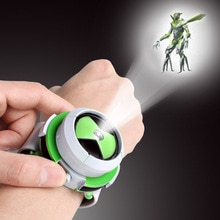 Hot Sale Toy BEN Children Watch Omnitrix Toys For Kids Projector Student Watches Projector Christmas