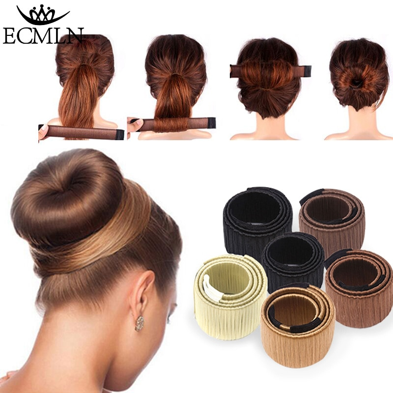 Hair Accessories Synthetic Wig Donuts Bud Head Band Ball French Twist Magic DIY Tool Bun Maker Sweet