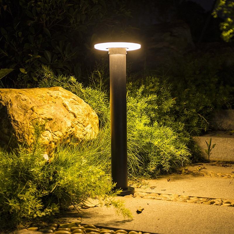 Garden Outdoor Lights Pathway Lighting AC85-265V Waterproof Lawn Lamp Aluminum Landscape Decoration Lighting for Yard Walkway enlarge