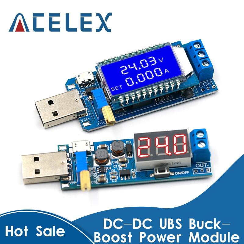 DC-DC 5V to 3.5V / 12V USB Step UP / Down Power Supply Module Adjustable Boost Buck Converter Out DC