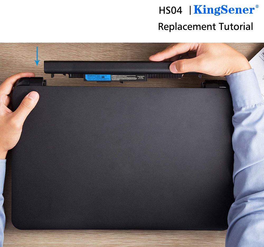 Купить с кэшбэком KingSener HS03 HS04 Laptop Battery For HP Pavilion 14-ac0XX 15-ac121dx 255 245 250 G4 240 HSTNN-LB6U HSTNN-LB6U HSTNN-PB6T/PB6S