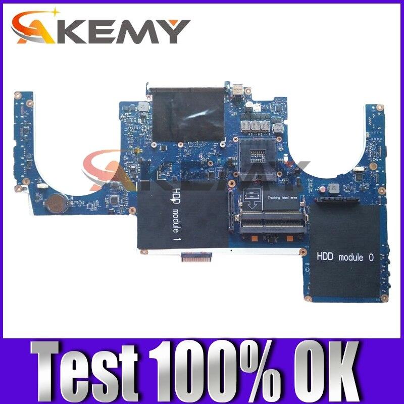 الأصلي اللوحة المحمول لديل من Alienware M17X R3 HM67 اللوحة CN-0GFWM3 0GFWM3 PAR00 LA-6601P DDR3