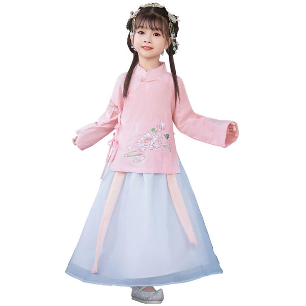 فستان هانفو الشعبي لحفلات الكريسماس, الملابس الوطنية للأداء المسرحي