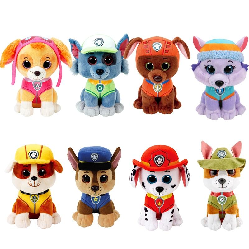 Ty Beanie погоня Скай трекер Эверест Рокки Маршалл щебень зума собака плюшевые набивные животные коллекционная игрушка