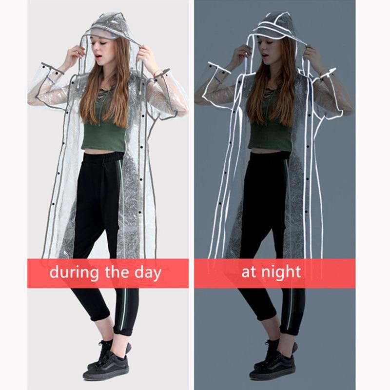 cloak ladies long raincoat women female belt rain coat phoco waterproof travel trench Chubasqueros Fashion show