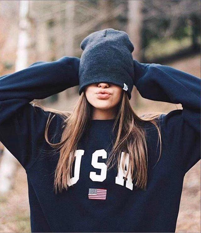 Принт США 2020 новый дизайн распродажа толстовки женские повседневные Kawaii Harajuku свитшоты европейские Топы корейские