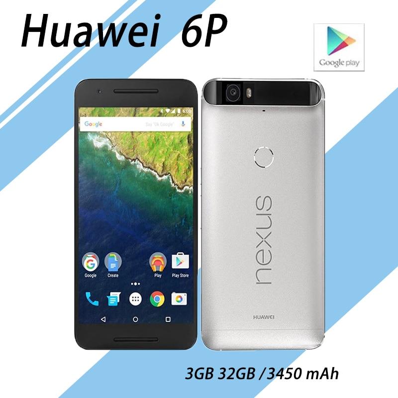 Смартфон HuaWei Nexus 6P, экран 5,7 дюйма, 3 ГБ ОЗУ 64 Гб ПЗУ, сканер отпечатка пальца, на базе Android