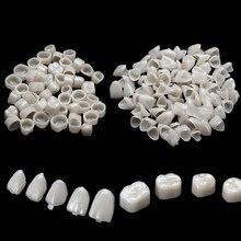 2 Packs Dental Zähne Veneers Ultra Dünne Bleaching Harz Molaren Anterioren Temporäre Krone Porzellan Dental Material Mundpflege Werkzeug