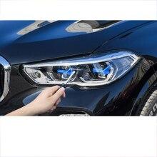 Lsrtw2017 Trasnparent Tpu Auto Koplamp Beschermfolie Voor Bmw X5 2019 2020 2021 G05 Anti-Kras Sticker Accessoires
