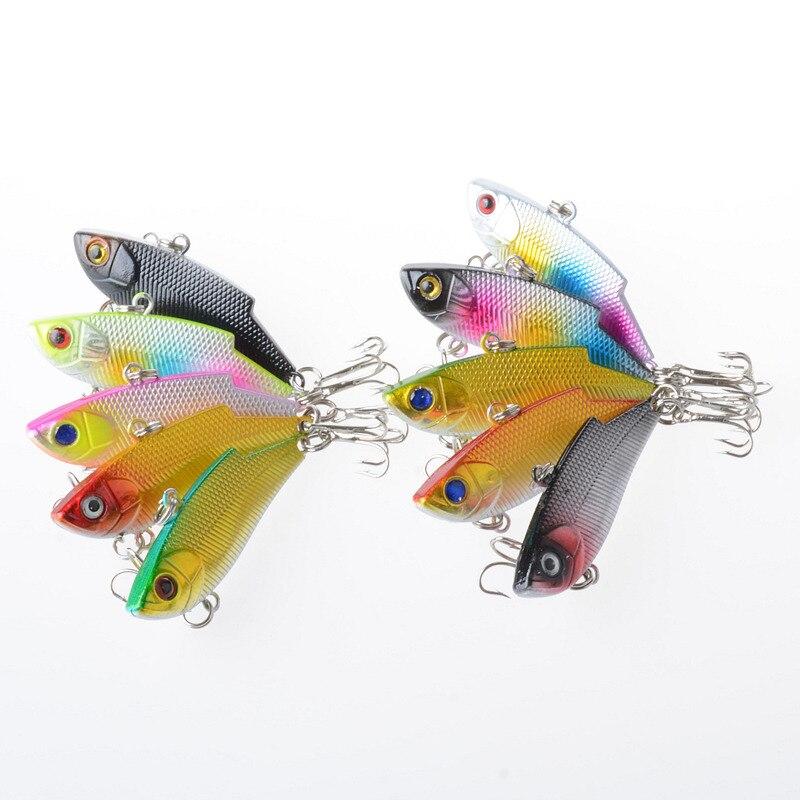 46pcs suit Luya bait minobo climbing VIB pencil false bait bionic bait plastic hard  fishing lure set enlarge