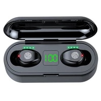 f9 tws wireless bluetooth earphone headphone sport touch mini earbuds stereo bass headset with 2000mah charging case power bank