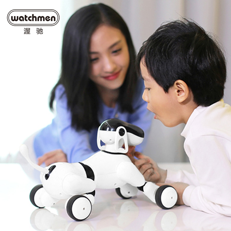 Smart AI Robot Dog Voice Control Puppy Go Touch Interactive toys for Boys Educational Funny Gift Motion Dance Songs Music Speak