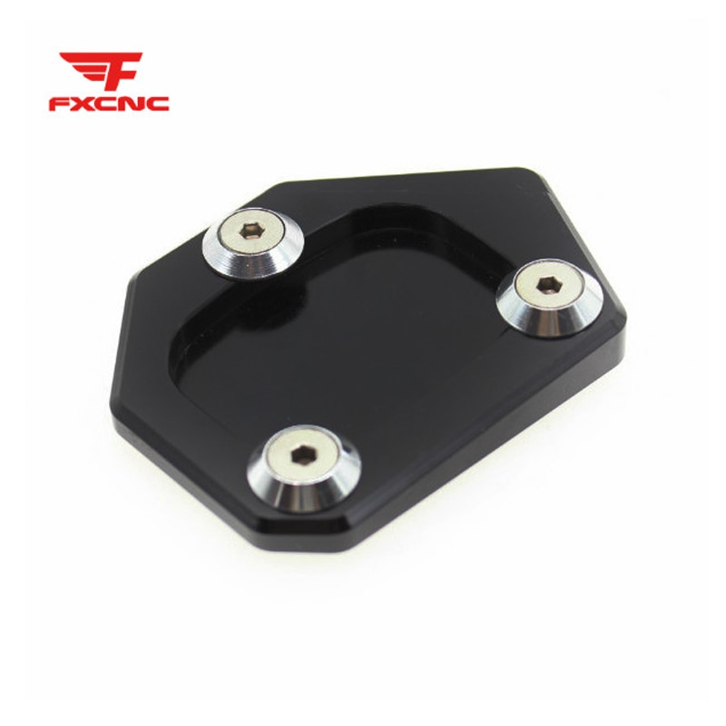 CNC lado soporte para Honda TRANSALP XL 600 de 650 de 700 TRANSALP XL600V DOMINATOR NX FMX 650 Sidestand Ampliador extensión Pad