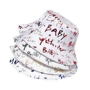 2021 four seasons cotton letter print Bucket Hat Fisherman Hat Outdoor Travel Sun Cap for Men and Women 388