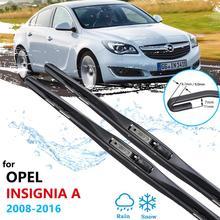 Balais dessuie-glace pour Opel Insignia A MK1, 2008 ~ 2016, Vauxhall Holden Buick Regal, accessoires de voiture pour pare-brise, 2009, 2015