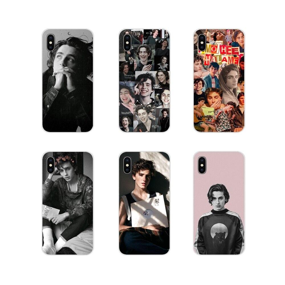 Timothee Chalamet Editor del para Apple iPhone X XR XS 11Pro MAX 4S 5S 5C SE 6 6S 7 7 Plus ipod touch 5 6 cubiertas de los casos del teléfono
