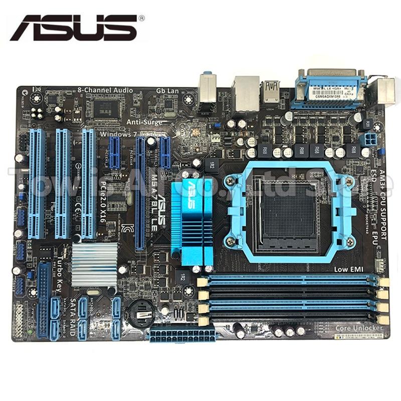 Asus M5A78L LE original motherboard DDR3 Socket AM3/AM3+ support 32G RAM mainboard PC