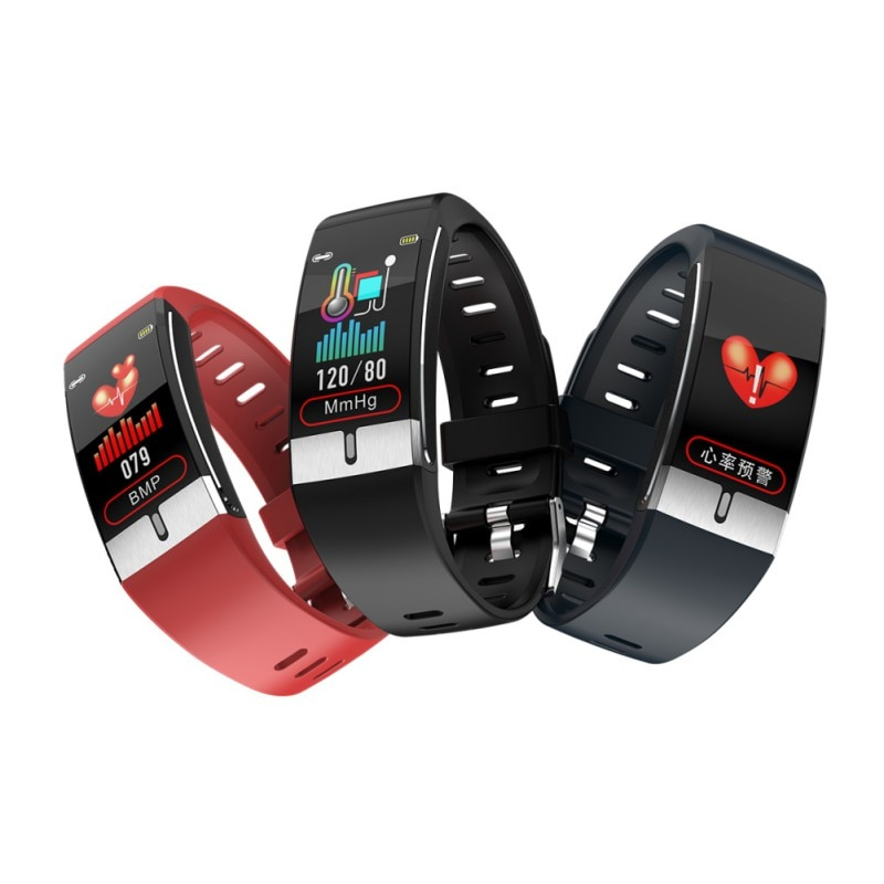 Sport Fitness Armband Körper Temperatur Monitor EKG PPG Smartwatches Herz Rate Smart Armband Blutdruck Messung
