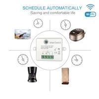 16A mini smart switch DIY Wifi Switch Smart Home Universal Module Voice Control Tuya Smart Life APP Works with Alexa Google Home