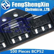 100 pièces BCP52 SOT-223 SOT Transistor