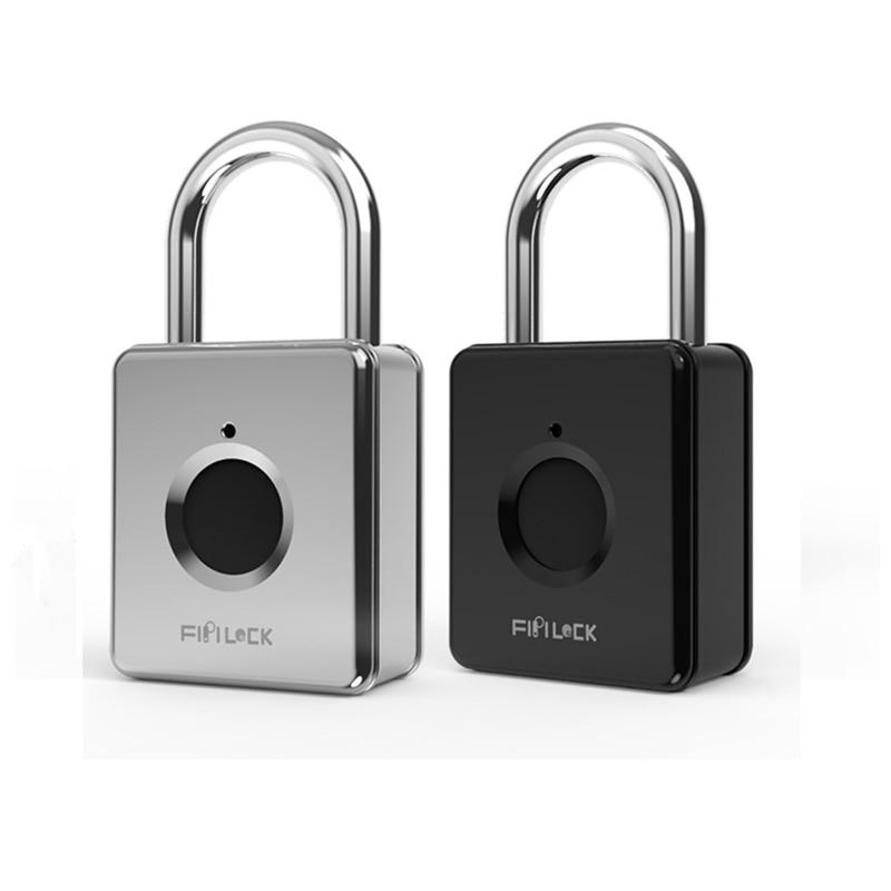 Smart Lock Keyless Fingerprint Lock Anti-Diebstahl Sicherheit Vorhängeschloss Tür Gepäck Tasche Schloss cerradura inteligente замок