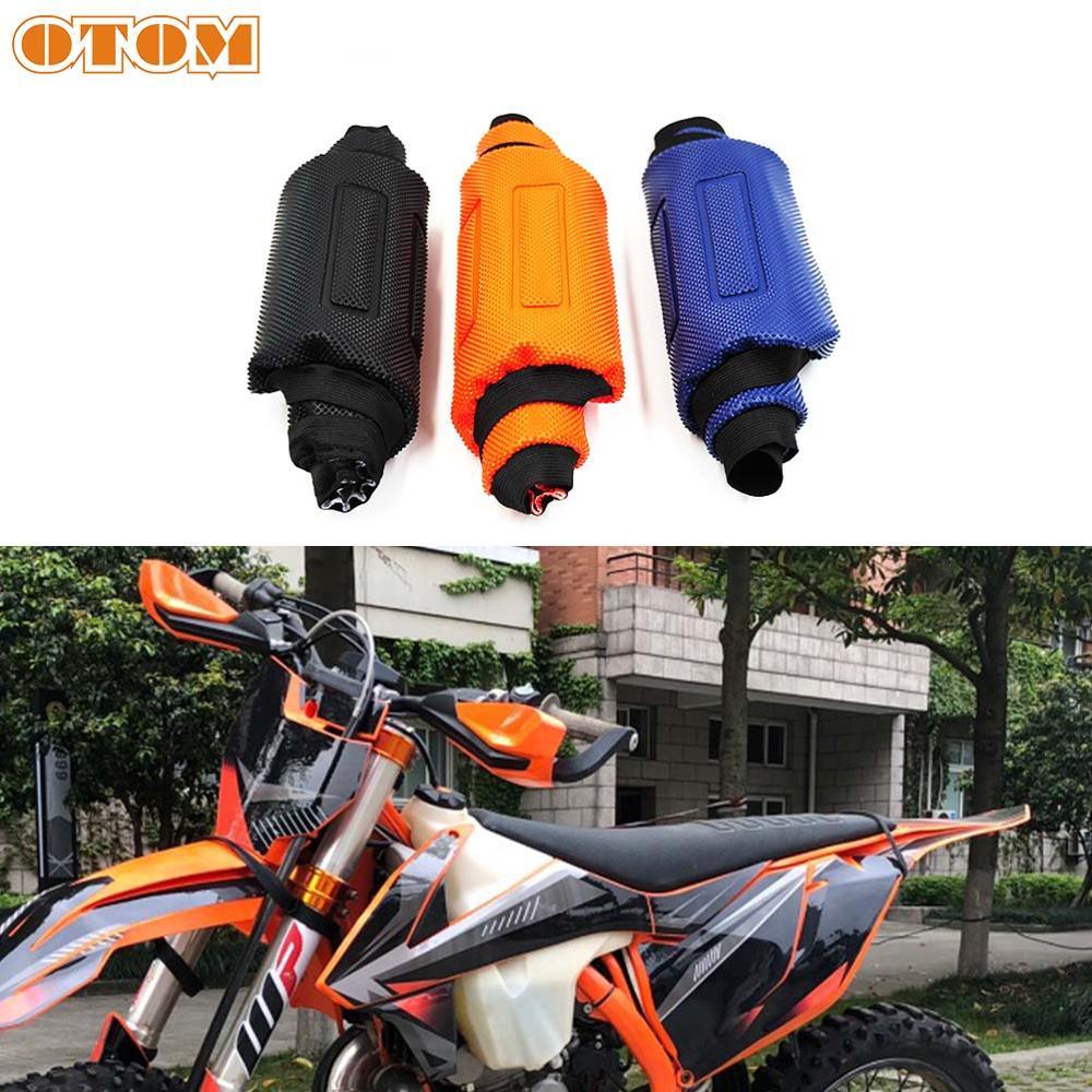OTOM-غطاء مقعد مطاطي لـ Motocross Pro ، واقي وسادة ناعم ، مضاد للانزلاق ، مقاوم للماء لـ KTM EXC SX XC XCF