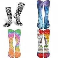 fashion spring new arrived happy socks men funny streetwear hip hop guitar pepper designer crew sock gift for men