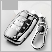 Zachte Tpu Autosleutel Case Key Cover Voor Kia Rio Sportage Ceed Cerato Sorento K2 K3 K4 K5 2018 2019 2020 Sleutel Shell Houder Volledige Cover